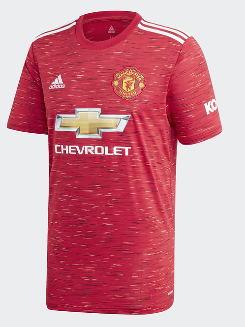 2020-2021 Manchester United Home Football Shirt