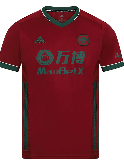 2020 - 2021 Wolves Away Football Shirt