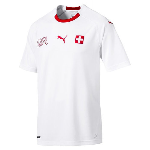 2018 Switzerland Away Football Shirt