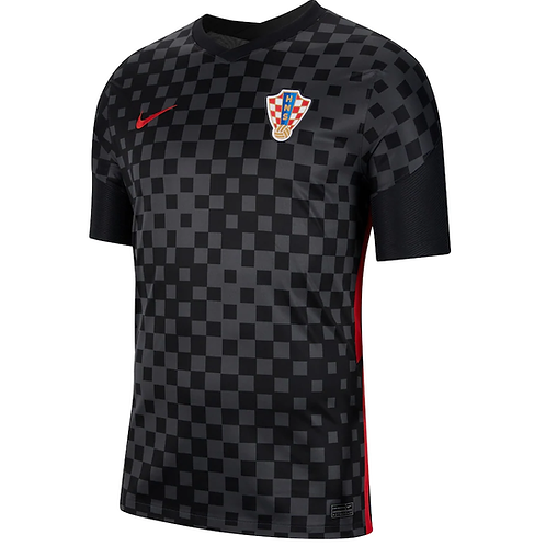 2021 Croatia Euros Away Football Shirt