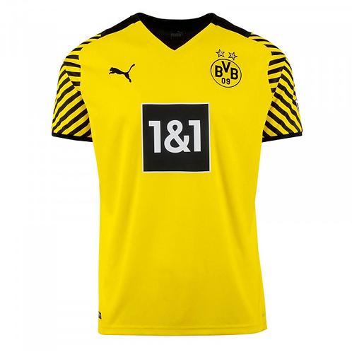 2021-2022 Borussia Dortmund Home  Football Shirt