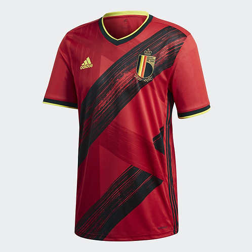 2021 Belgium Euros Home Football Shirt