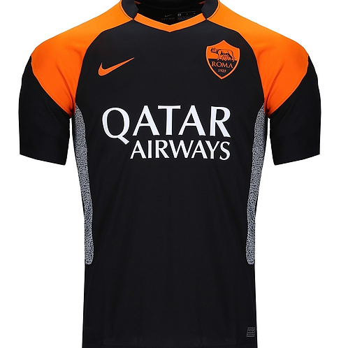 2020-2021 Roma Third Away Football Shirt