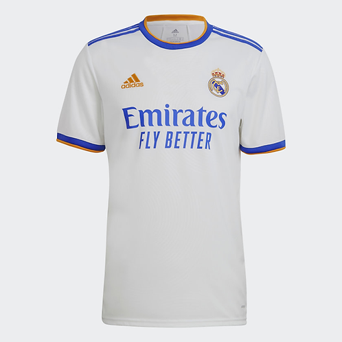 2021-2022 Real Madrid Home Football Shirt