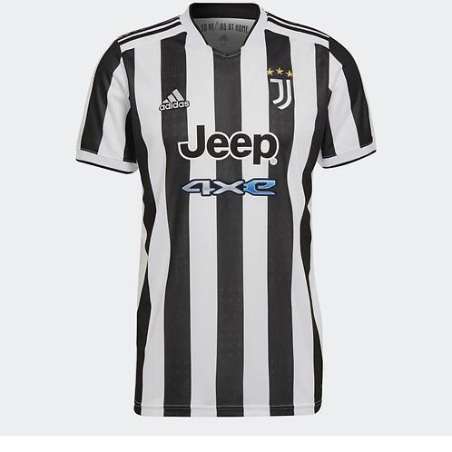 2021-2022 Juventus Home Football Shirt