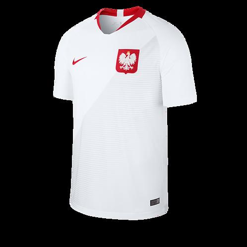 2018 Poland Home Football Shirt