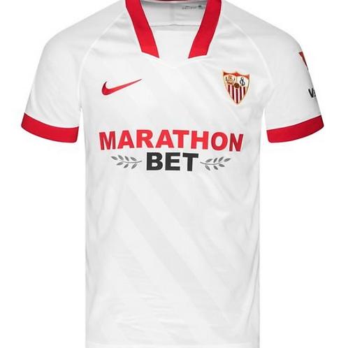 2020-2021 Sevilla Home Football Shirt