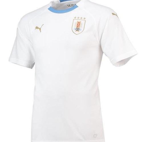 2018 Uruguay Away Football Shirt