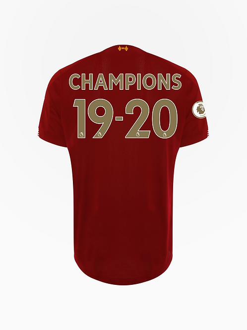 Liverpool 19/20 Champions Home Shirt