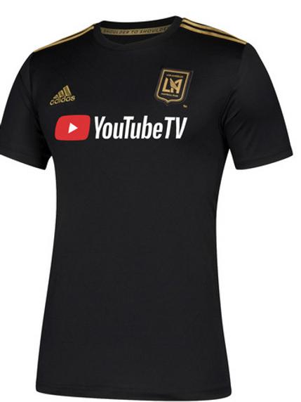 2018-2019 Los Angeles FC Home Football Shirt