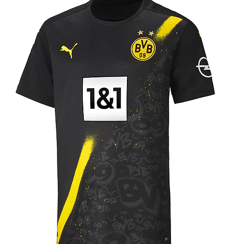 2020-2021 Borussia Dortmund Away Football Shirt