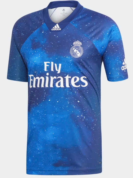 sports shoes bb376 91a0f Real Madrid EA Sports Football Shirt
