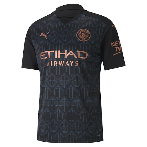 2020-2021 Manchester City Away Football Shirt