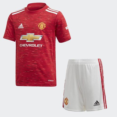 2020-2021 Manchester United Kid's Home Football Kit