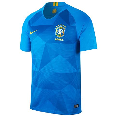 2018 Brazil Away Football Shirt