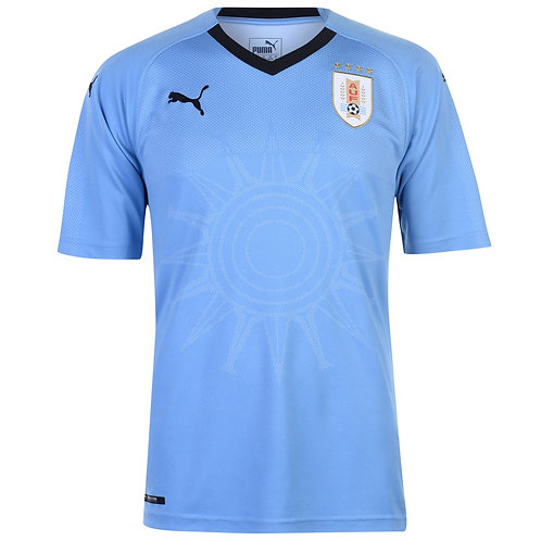2018 Uruguay Home Football Shirt