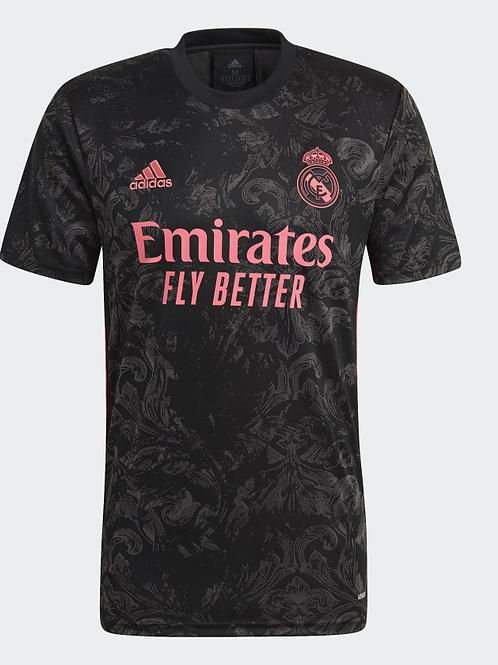 2020-2021 Real Madrid Third Away Football Shirt