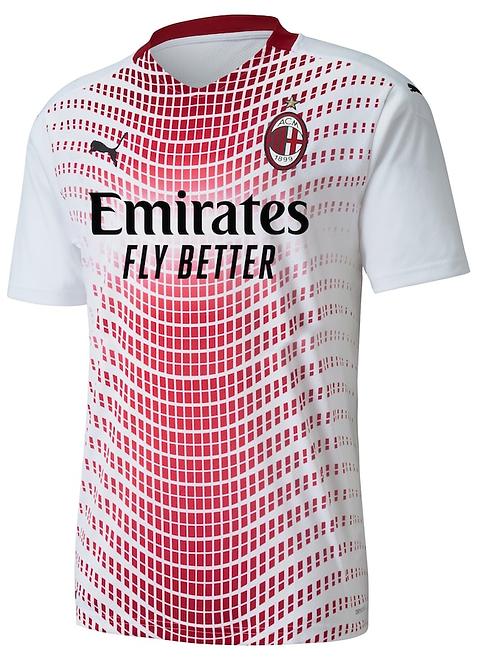 2020-2021 AC Milan Away Football Shirt