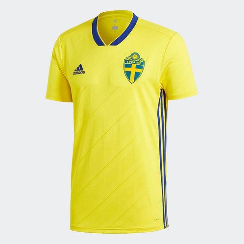 2018 Sweden Home Football Shirt