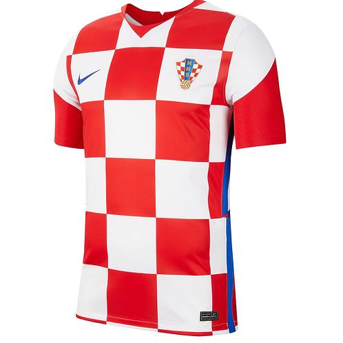 2021 Croatia Euros Home Football Shirt