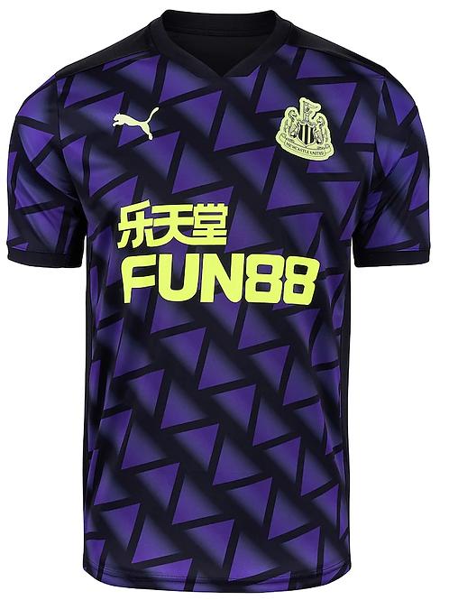 2020 - 2021 Newcastle Third Away Football Shirt