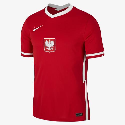 2021 Poland Euros Away Football Shirt
