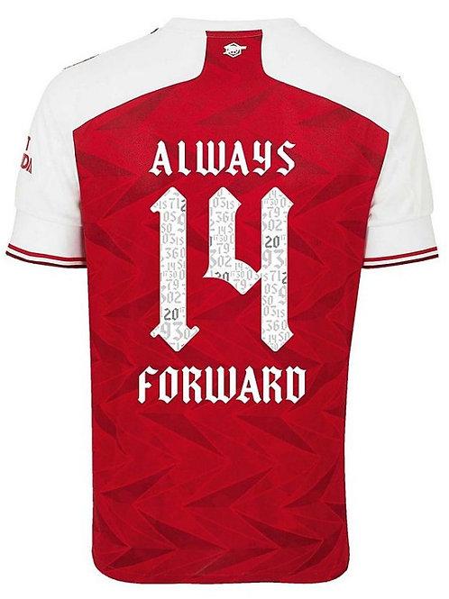 2020-2021 Arsenal FA Cup (14 Times Winners) Home Football Shirt