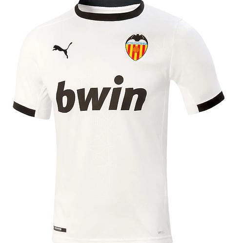 2020-2021 Valencia Home Football Shirt