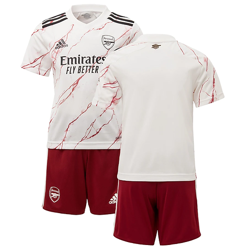 2020-2021 Arsenal Kids Away Football Kit