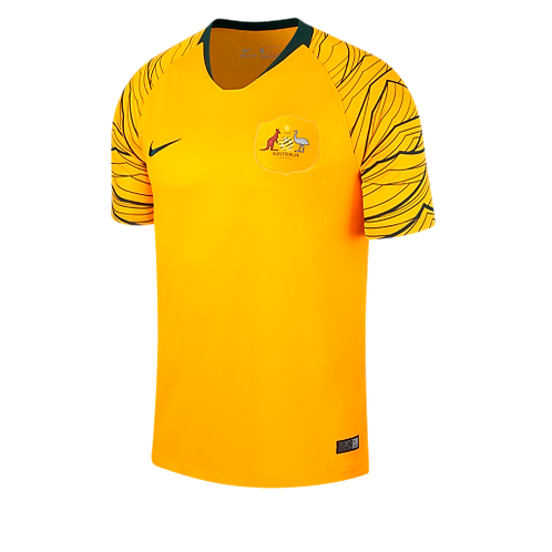 2018 Australia Home Football Shirt