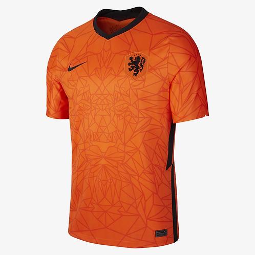 2021 Netherlands Euros Home Football Shirt