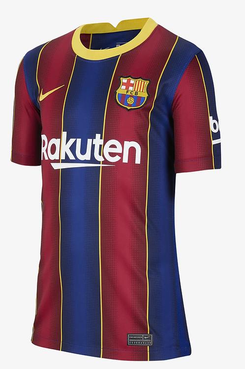 2020-2021 Barcelona Home Football Shirt