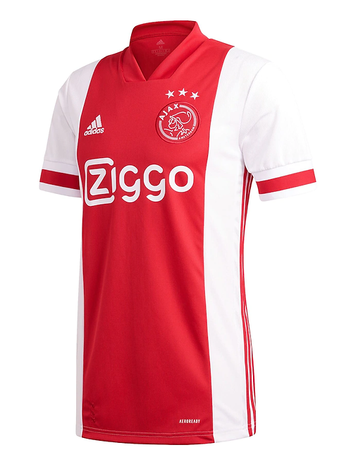 2020-2021 Ajax Home Football Shirt