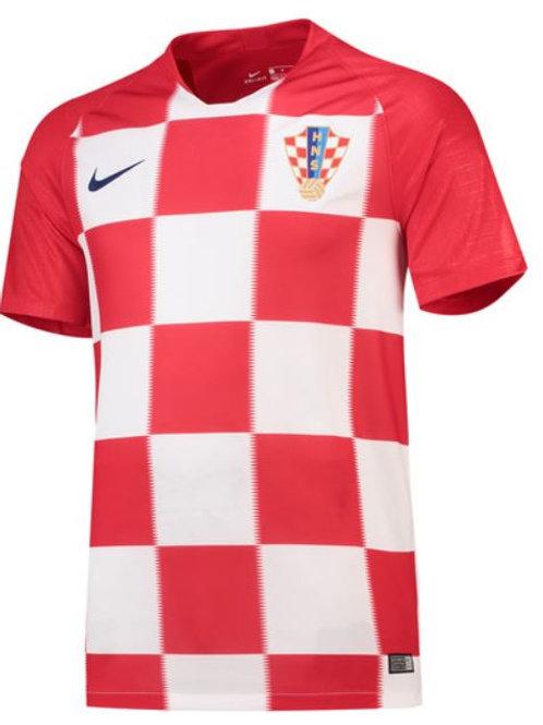 2018 Croatia Home Football Shirt