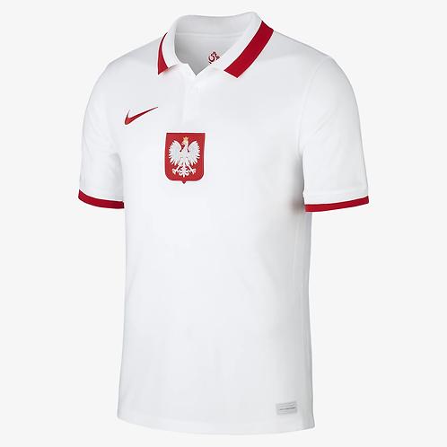 2021 Poland Euros Home Football Shirt