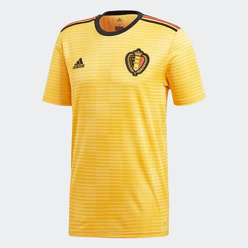 2018 Belgium Away Football Shirt