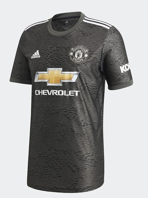 2020-2021 Manchester United Away Football Shirt