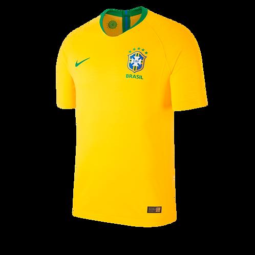 2018 Brazil Home Football Shirt