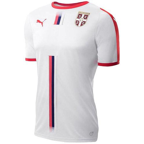 2018 Serbia Away Football Shirt