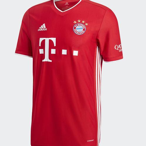 2020-2021 Bayern Munich Home Football Shirt