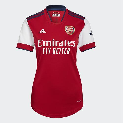 2021-2022 Arsenal Women's Home Football Shirt