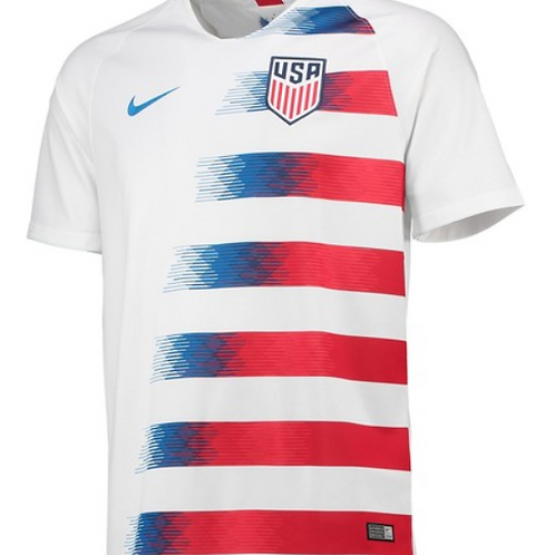 2018-2019 United States Of America Home Football Shirt