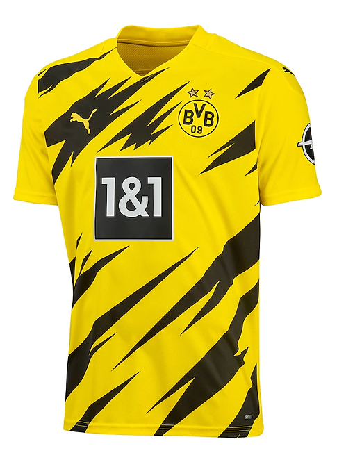 2020-2021 Borussia Dortmund Home  Football Shirt