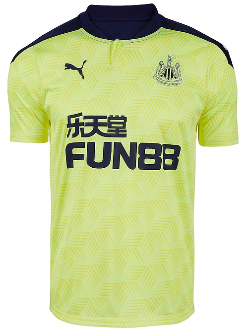 2020 - 2021 Newcastle Away Football Shirt