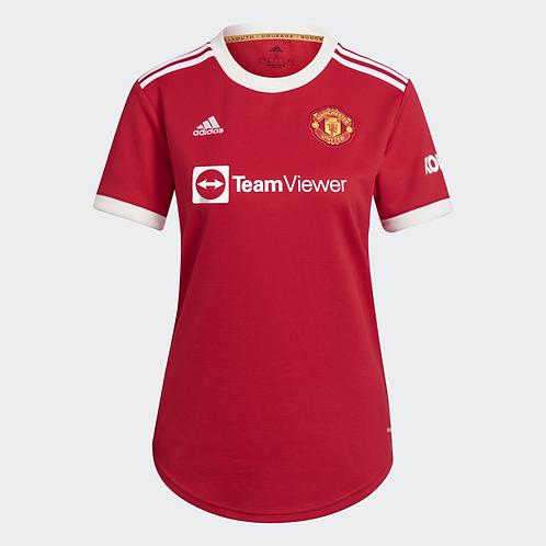 2021-2022 Manchester United Home Women's Football Shirt