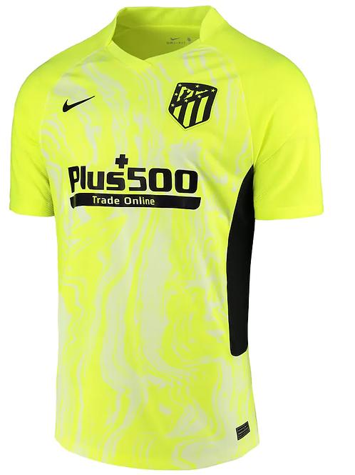 2020-2021 Atletico Madrid Third Away Football Shirt