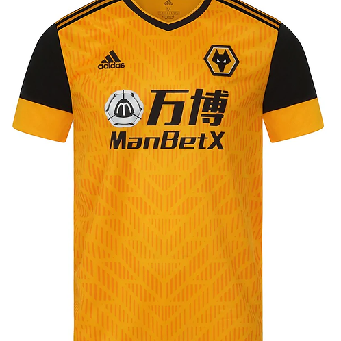 2020 - 2021 Wolves Home Football Shirt