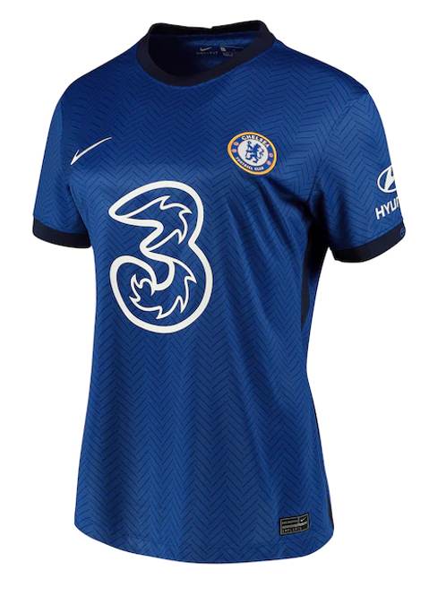 2020-2021 Chelsea Womens Home Football Shirt