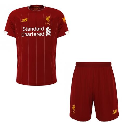 2019-2020 Liverpool Home Kid's Football Kit