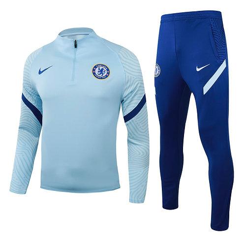 2021-2022 Chelsea White & BlueTracksuit